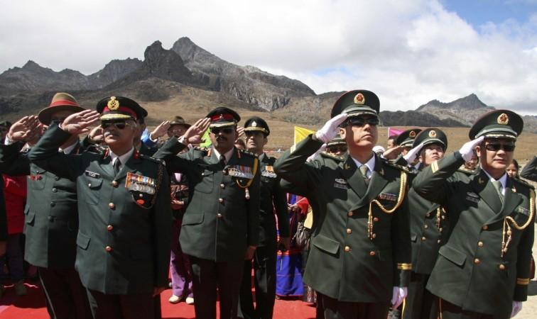 India, China drills