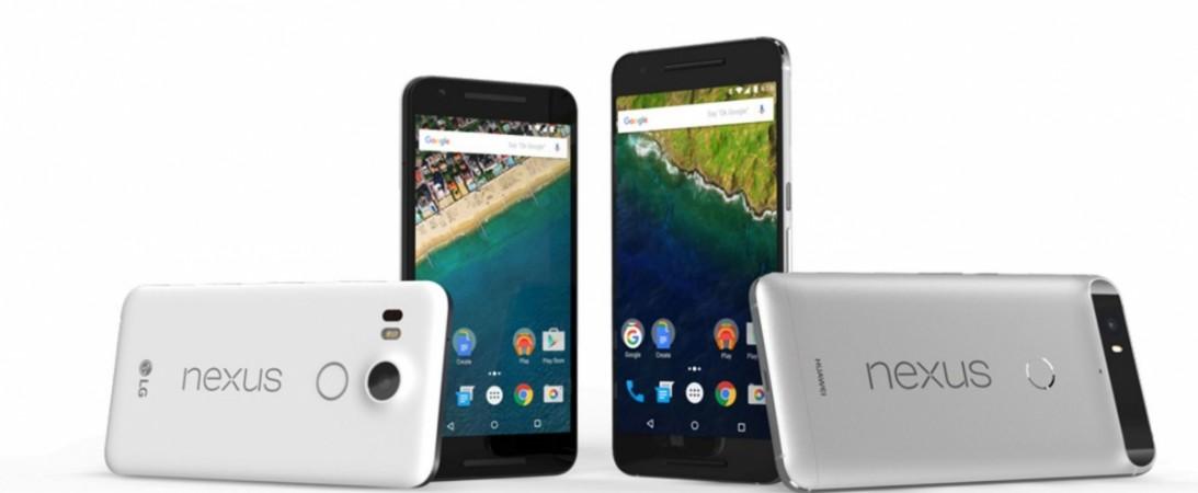 Huawei's Google Nexus 6P and LG's Google Nexus 5X