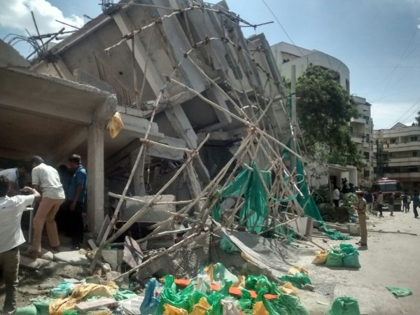 bellandur building collapse