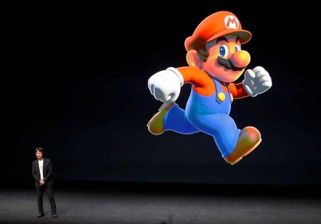 Super Mario Run is shown here for representational purpose
