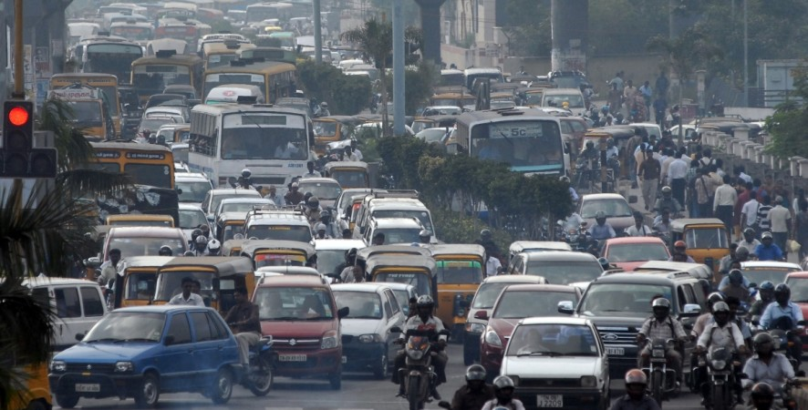 cars traffic india vehicles chennai domestic car sales pollution two wheelers busy junction festival sales exports buses trucks motorcycles