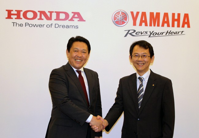 Yamaha Honda collaboration