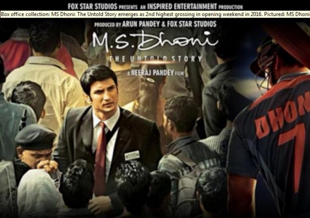 MS Dhoni 6th Day Collection, Surpasses Lifetime Total of SRK's Fan