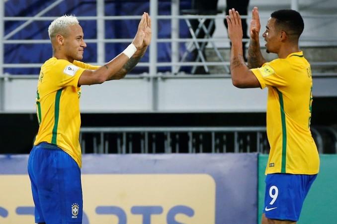 Neymar Gabriel Jesus Brazil