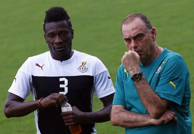 Asamoah Gyan Avram Grant Ghana