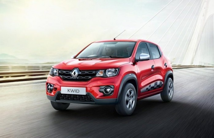renault kwid garners over 21 000 bookings through mobile app. Black Bedroom Furniture Sets. Home Design Ideas