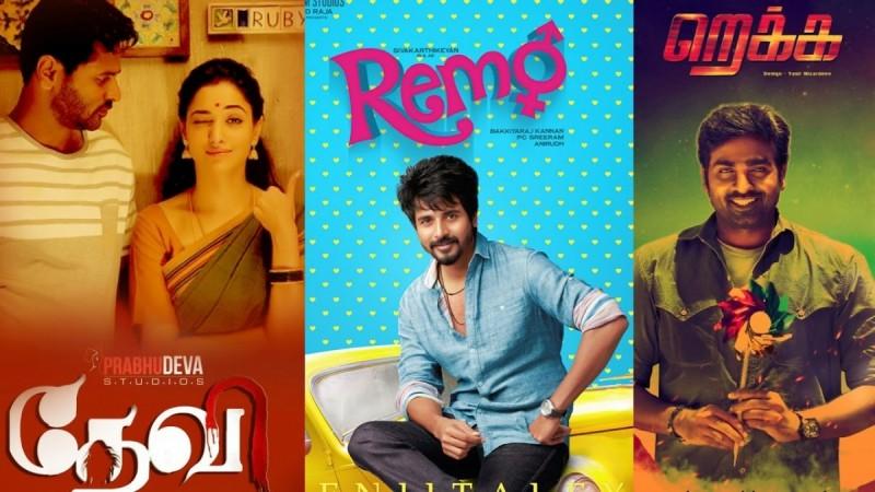 Remo, Rekka, Devi full movies leaked online