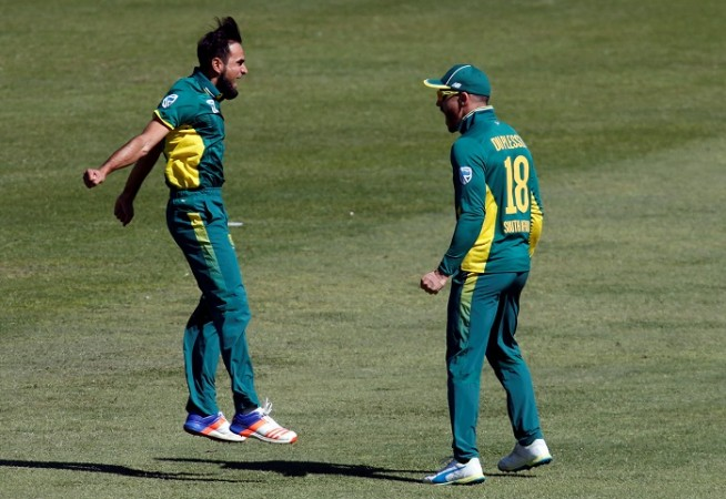 Imran Tahir Faf Du Plessis South Africa