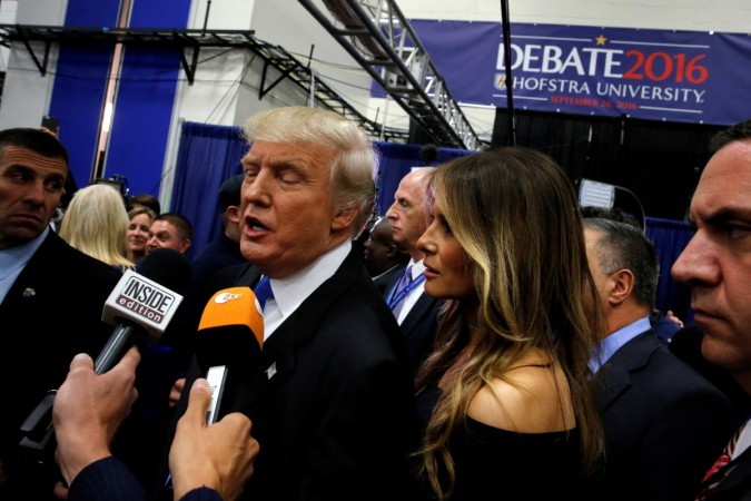 Melania Trump has said that husband Donald Trump's comments are unacceptable and offensive to her.
