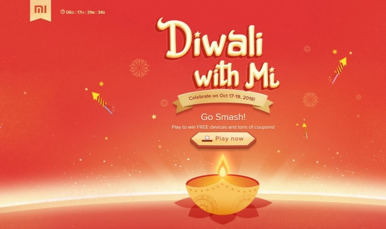 Xiaomi Mi Diwali sale: Rs. 1 flash sale of Redmi Note 3, Redmi 3S Prime, Mi Band 2 to go live next week