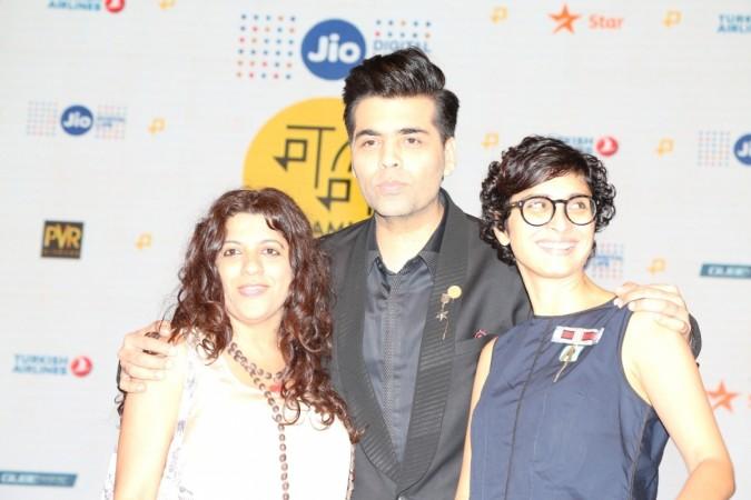 Karan Johar, Zoya Akhtar and Kiran Rao