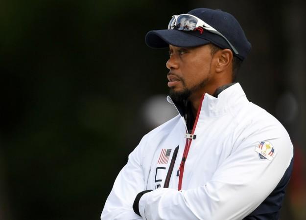 Tiger Woods Ryder Cup 2016