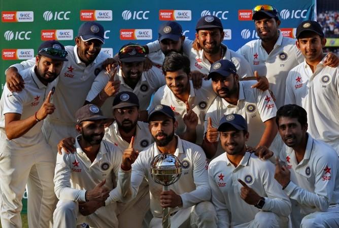 India Test mace