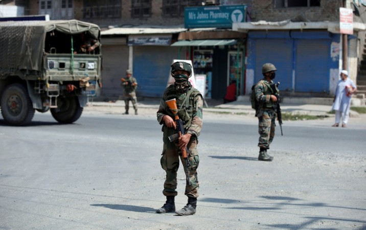 Gun battle between security forces and the militants in the EDI hostel building in Pampore has entered Day 3