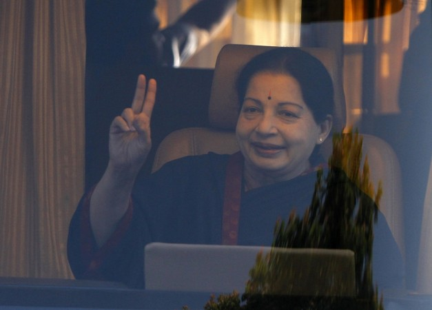 Jayalalithaa, chief minister of India's Tamil Nadu state and chief of AIADMK
