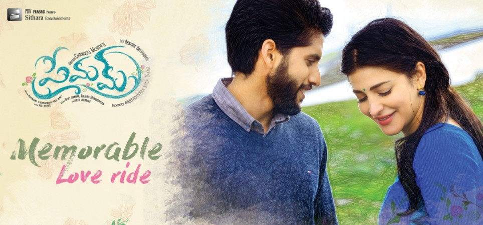 Naga Chaitanya and Shruti Haasan in Premam