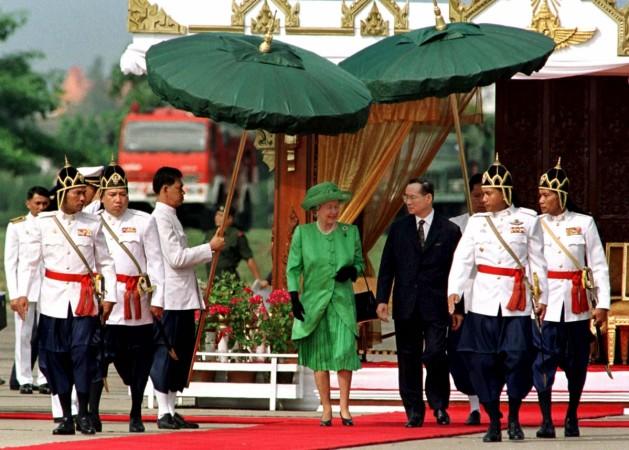 Thai King Bhumibol Adulyadej
