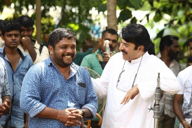 Johny Antony and Mammootty
