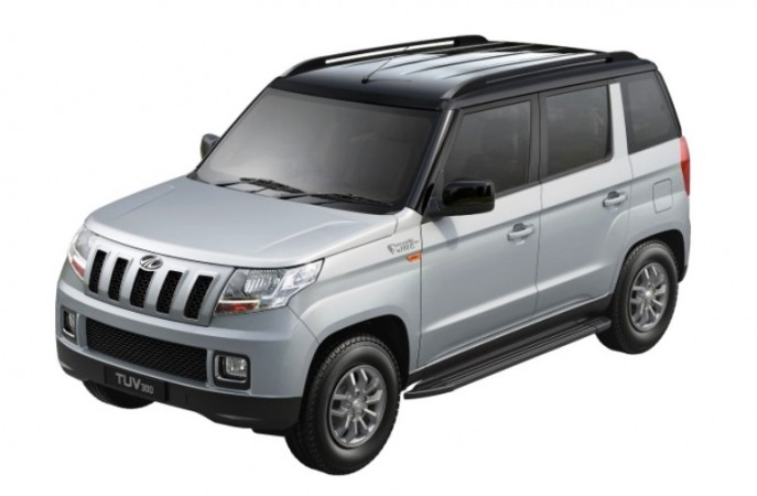 Mahindra TUV300 now comes in dual tone colour