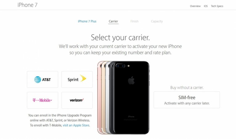 SIM-free Apple iPhone 7 series now available in US; price details