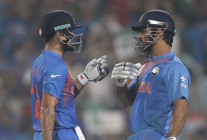 Virat Kohli MS Dhoni India