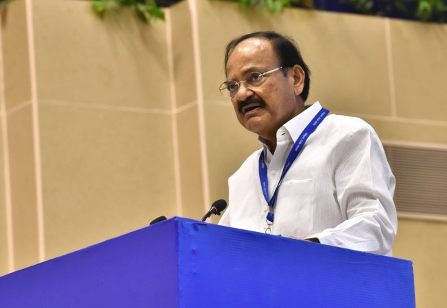 Congress stands for defame, disturb, disrupt: Venkaiah Naidu