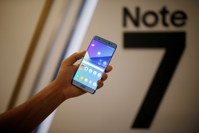 samsung galaxy note 7 production recall battery cell mobile handset halt stop credit rating profile share price kospi loss india operations cmr report