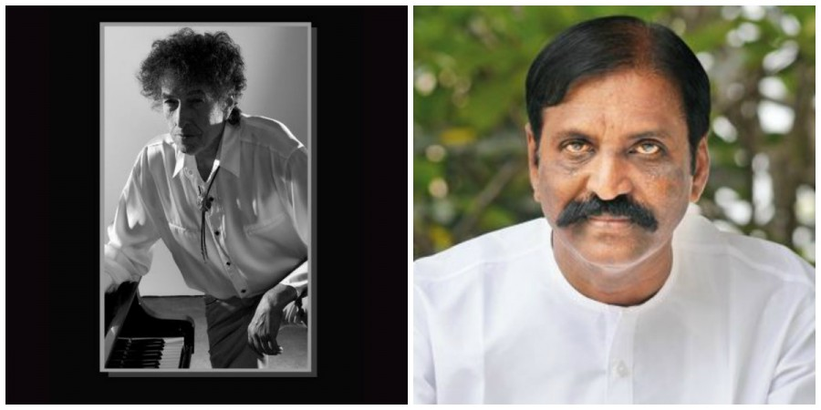 Vairamuthu and Bob Dylan