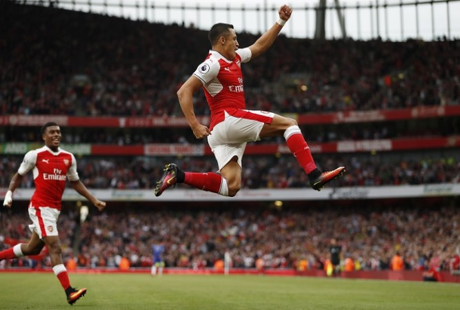 Alex Iwobi Alexis Sanchez Arsenal