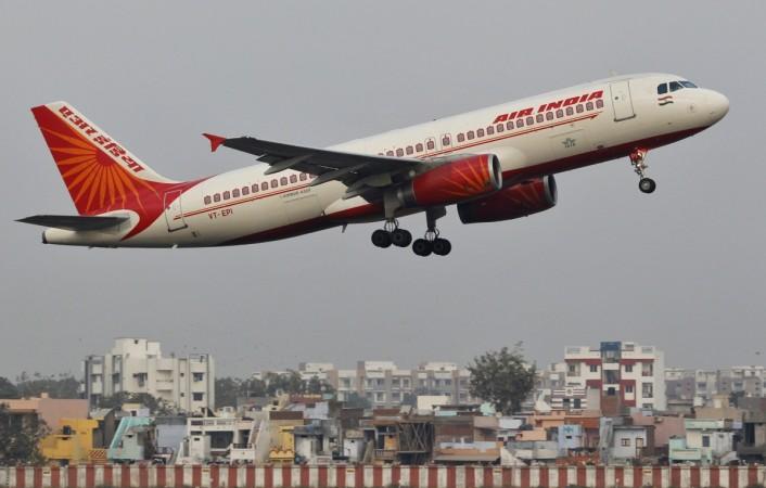 Air India passenger plane, air india pilot