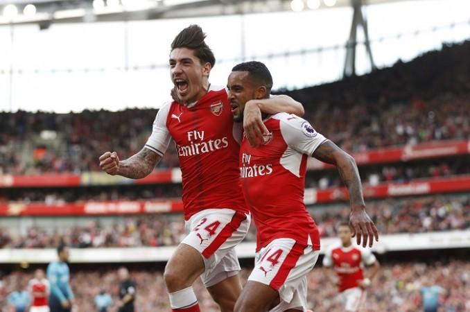 Hector Bellerin Theo Walcott Arsenal
