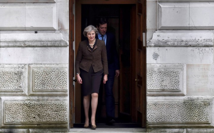 Theresa May to visit India