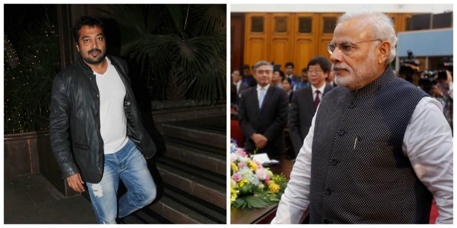 Anurag Kashyap and Narendra Modi