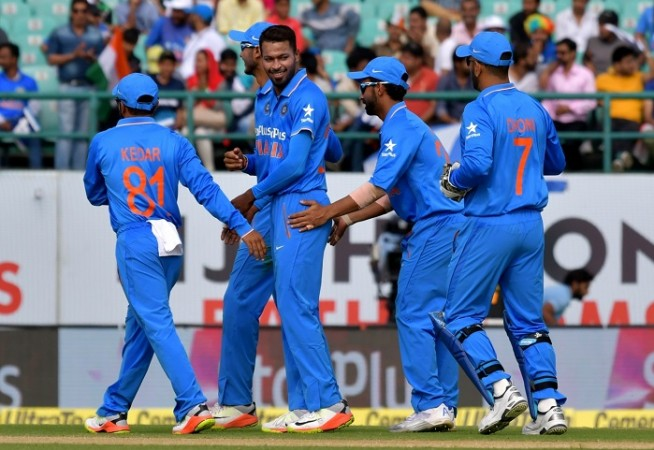 Hardik Pandya India New Zealand