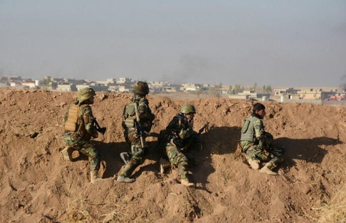 US forces behind front lines in Iraq's battle to retake Mosul