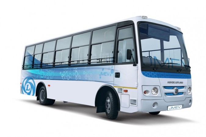 Ashok Leyland launches India's first made-in -India electric bus