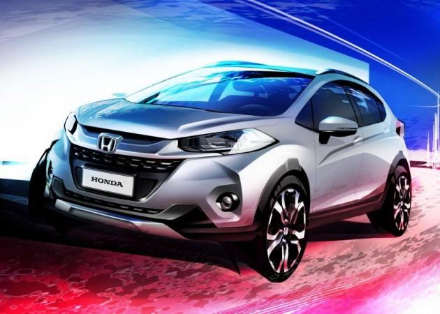 Honda WR-V sketch