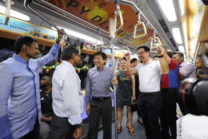 Deepavali themed train in Singapore