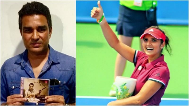 Sanjay Manjrekar and Sani Mirza engage in Twitter banter