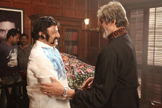 Nandamuri Balakrishna and Amitabh Bachchan
