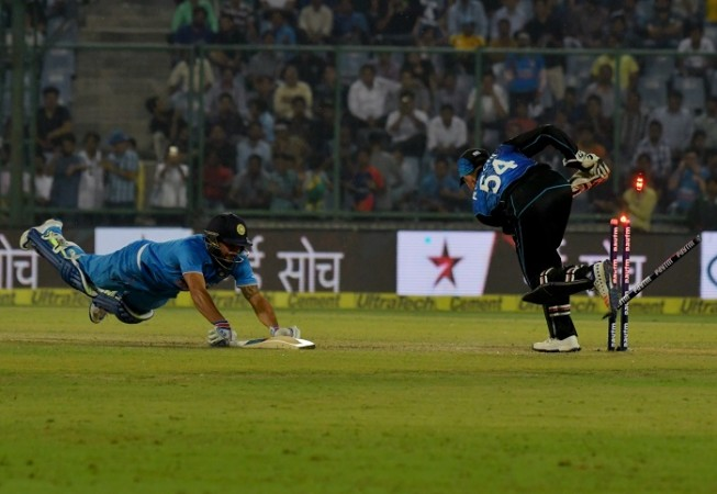 Manish Pandey India Luke Ronchi New Zealand