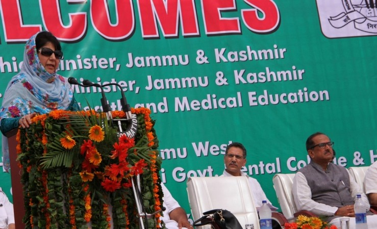 Try to bring back youths to mainstream: Mehbooba