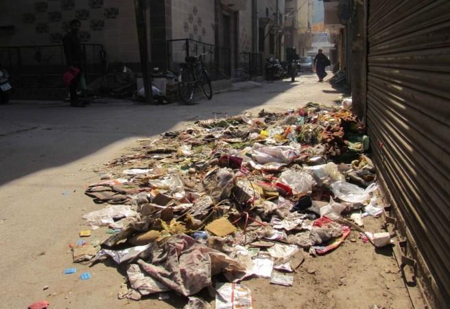 garbage delhi