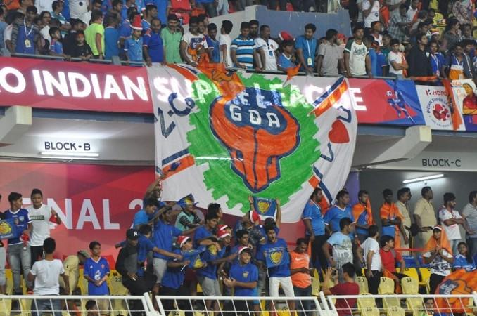 Fatorda Stadium FC Goa fans