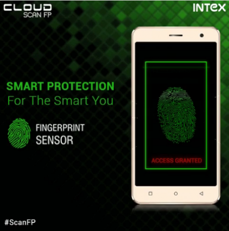 World's cheapest smartphone with fingerprint sensor launched by Intex: Cloud Scan FP for just Rs. 3,999