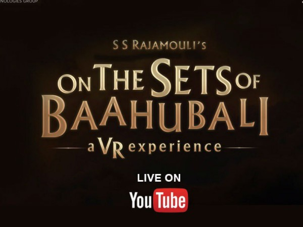 Baahubali VR teaser