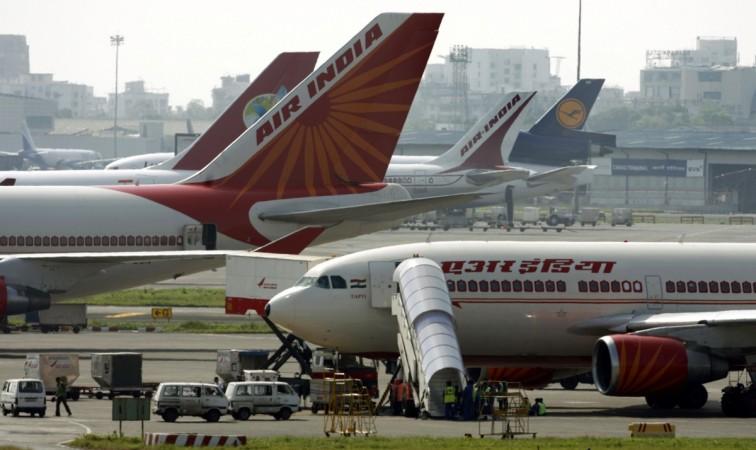 air india revenue net profit loss aviation market share dgca
