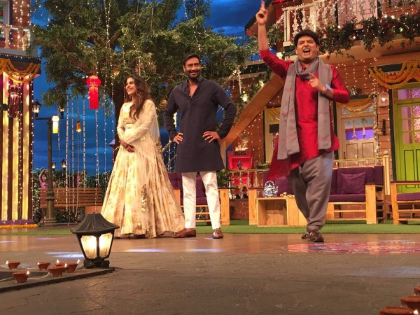 Shivaay on The Kapil Sharma Show