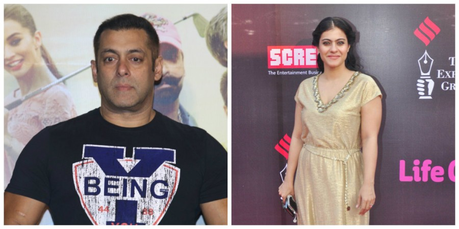 Salman Khan and Kajol