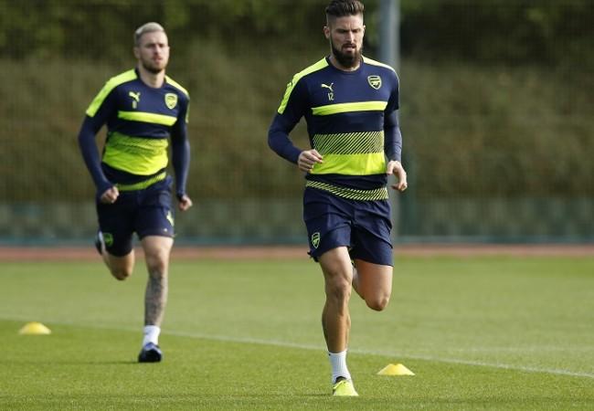 Aaron Ramsey Olivier Giroud Arsenal